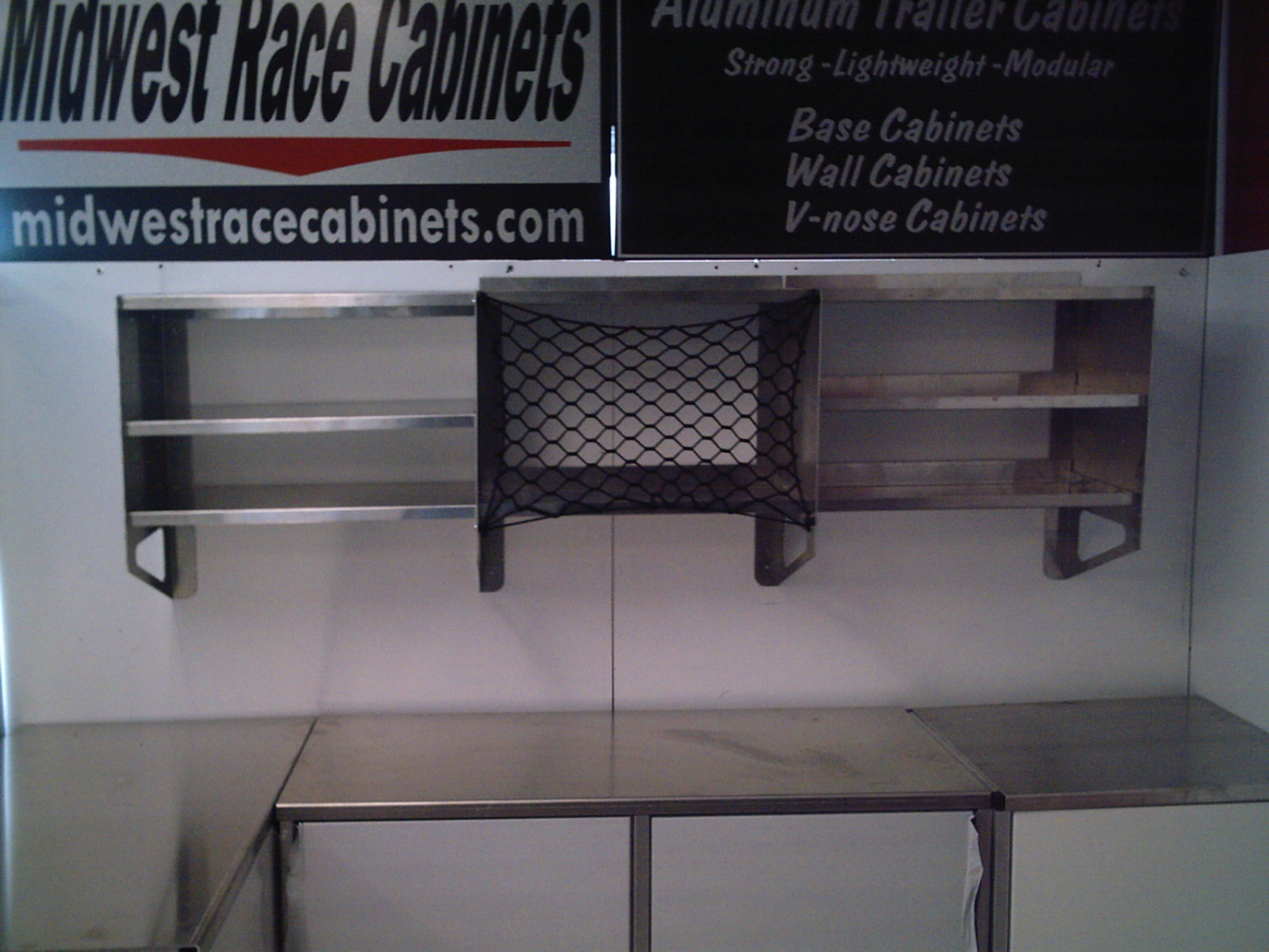 Super Shelf Midwest Race Cabinets